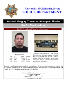 Gregory Turner - wanted for attempted murder